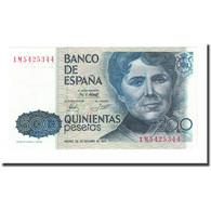 Billet, Espagne, 500 Pesetas, 1979-10-23, KM:157, NEUF - [ 4] 1975-… : Juan Carlos I