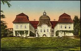 HUNGARY  ROMANIA Cca 1923   COLORED PC GERNYESZEG Castle Now GORNESTI MS VF - 1881-1918: Charles Ier