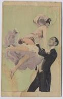 ReznicekF. SIMPLICISSIMUS-KARTE  SERIE XVIII  N° 2  Danse Dance Couple  About 1905y.    E701 - Reznicek, Ferdinand Von