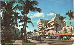 POSTAL    MIAMI BEACH  -FLORIDA -EE.UU. -LINCOLN ROAD  (CALLE LINCOLN) - Miami Beach