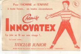 Buvard Chemise Innovatex - Buvards, Protège-cahiers Illustrés