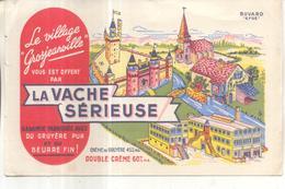 Buvard La Vache Sérieuse - Buvards, Protège-cahiers Illustrés
