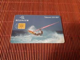 Phonecard Surfing Used  Rare - Belgium
