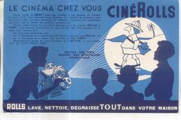 Buvard Cinerolls, Le Cinéma Chez Vous - Cinéma & Théatre