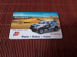 Phonecard Paris Dakar Rally   Used - Belgium