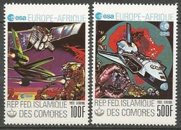 PA N° 157 ET 158  NEUF**  SANS CHARNIERE  / MNH - Comoros