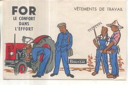 Buvard For, Vetements De Travail - Buvards, Protège-cahiers Illustrés