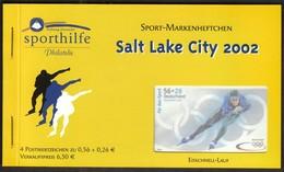 Germany 2002 / Olympic Games Salt Lake City / Skating / Sport Help, Sporthilfe / Markenheftchen, Booklet, Carnet MNH - Invierno 2002: Salt Lake City