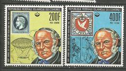 PA N° 155 ET 156  NEUF**  SANS CHARNIERE  / MNH - Comoros