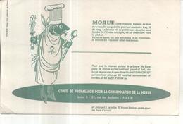 Buvard : Morue - Buvards, Protège-cahiers Illustrés