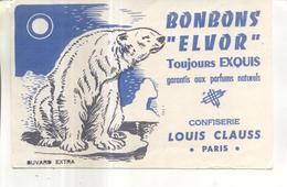 Buvard : Bonbons Elvor - Vloeipapier
