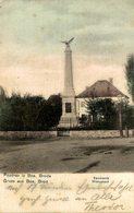 POZDRAV IZ BOS BRODA GRUSS AUS BOS BROD SPOMENIK MONUMENT   BOSNIA Y HERZEGOVINA BOSNIEN UND  HERZEGOWINA - Bosnia And Herzegovina