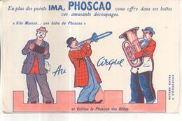 Buvard : Phoscao Vous Offre Ses Amusants Découpages - P