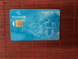 Phonecard Atomium 200 Bef FJ 31.05.2001 Used - Belgium
