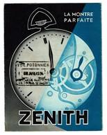 Dépliant Publicitaire 1934 - Montre ZENITH - Horlogerie - 3 Scans - Publicités