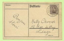 BZ 85 (opdruk Eupen) Op Brief Stempel HERGENRATH  (Rare Bureau !!!!) (K4267) - [OC55/105] Eupen/Malmedy