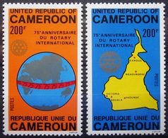 CAMEROUN                N° 649/650             NEUF** - Cameroun (1960-...)
