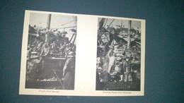 AFFICHE (GRAVURE) - Travail à Bord (énoctage) + Travail Du Poisson à Bord (ébreuillage) - Posters