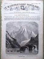 L'illustrazione Popolare 13 Maggio 1883 Victorien Sardou Amsterdam Zurigo Bolidi - Before 1900