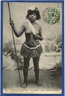 CPA Nu Féminin Femme Nue Ethnic Nouvelle Calédonie New Calédonia Ile Loyalty Maré Circulé - Nouvelle-Calédonie