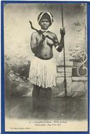 CPA Nu Féminin Femme Nue Ethnic Nouvelle Calédonie New Calédonia Tribu De Poya L'aiguille De Muéo Non Circulé - Nouvelle-Calédonie