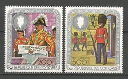 PA N° 141 ET 142  NEUF**  SANS CHARNIERE  / MNH - Comoros