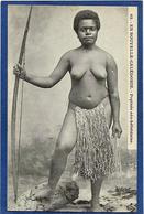 CPA Nu Féminin Femme Nue Ethnic Nouvelle Calédonie New Calédonia Popinée Nouvelles Hébrides Non Circulé - Nouvelle-Calédonie