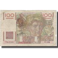 France, 100 Francs, 1946, 1946-12-19, B, Fayette:28.12, KM:128a - 1871-1952 Anciens Francs Circulés Au XXème