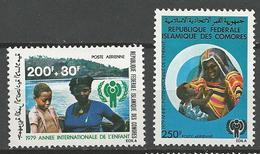 PA N° 164 ET 165  NEUF**  SANS CHARNIERE  / MNH - Comoros