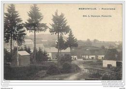 REMOIVILLE ..--  Panorama .1908 Vers ETTERBEEK ( Mr Joseph SULBOUT ) . Voir Verso . TEXTE !! - Vaux-sur-Sûre