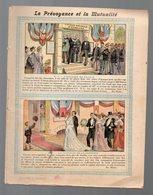 Cahier D'écolier Avec Couverture Illustrée: PREVOYANCE ET MUTUALITE  (PPP9074) - Blotters