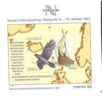 Iceland 2003 International Stamp Exhibition NORDIA 2003, Reykjavík.  Mi  Bloc 32  MNH(**) - 1944-... Republik