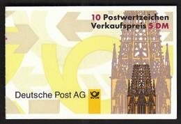 Germany 1996 / Sehenswürdigkeiten / Munster, Dortmund, Frankfurt, Altotting / Markenheftchen, Booklet, Carnet MNH - BRD