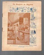 Cahier D'écolier Avec Couverture Illustrée: LES BIENFAITS DE L'HYGIENE 5 L'ALIMENTATION (PPP9077) - Blotters