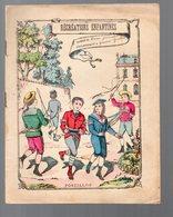 Cahier D'écolier Avec Couverture Illustrée:RECREATIONS ENFANTINES:  POSTILLON (PPP9078) - Blotters