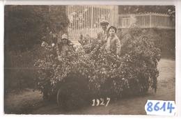 8614 CARTE PHOTO   FETE CHAR  A IDENTIFIER  1927 - Cartoline