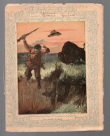 Cahier D'écolier Avec Couverture Illustrée: UNE CHASSE AU BISON (PPP9080) - Blotters