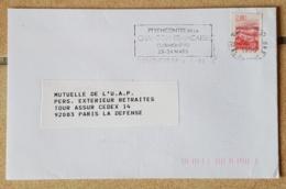 FRANCE Musique, Musica, Music, Flamme Temporaire CLERMONT FERRAND 7 Eme Rencontre De La Chanson Française 1996 - Musik