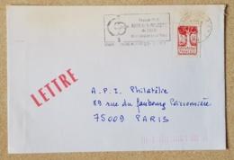 FRANCE Musique, Musica, Music, Flamme Illustrée BOURG EN BRESSE Amis De La Musique De L AIN 1993 - Musik