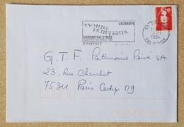 FRANCE Musique, Musica, Music, Flamme Temporaire ERMONT. Centenaire Yvonne Printemps 1994 - Musik