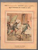 Cahier D'écolier Avec Couverture Illustrée : L'ARMEE DE L'EST Coup De Main De Vaucouleurs  (PPP9086) - Blotters