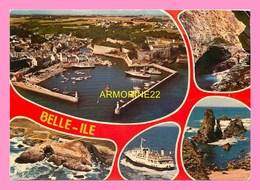 CPM BELLE ILE EN MER Le Port Du Palais  , Port Coton... - Belle Ile En Mer