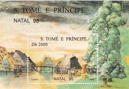 Santo Tome Y Principe Hb 163AB - Sao Tome And Principe