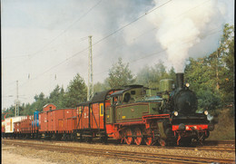 "Guterzug - Tenderlokomoptive T 13 "" 7906 Stettin "" - Trains"