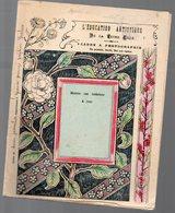 Cahier D'écolier Avec Couverture Illustrée : CADRE A PHOTOGRAPHIE  (PPP9089) - Blotters