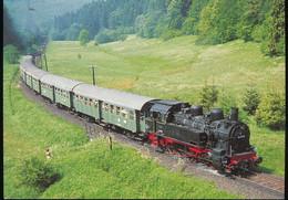 Guterzug - Tenderlokomotive 94 1538 - Trenes