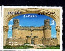 2017 Spain - Europa CEPT - Castles  Manzanares El Real 1v S.adhesive- MNH** MiNr. 5154 (zz17) - 2011-... Unused Stamps