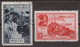 Russia 1941 Mi 814-815 Used - 1923-1991 URSS