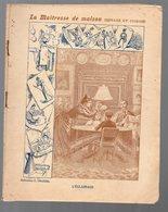 Cahier D'écolier Avec Couverture Illustrée : LA MAITRESSE DE MAISON: L'ECLAIRAGE  (PPP9093) - Blotters