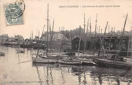 SAINT NAZAIRE - Les Bateaux De Pêche Dans Le Bassin - Saint Nazaire